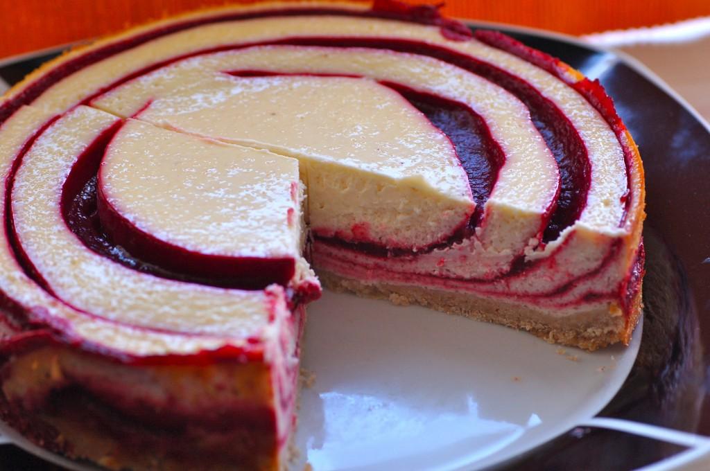 Saturday Sweets Kirschkasekuchen Dillspitzen