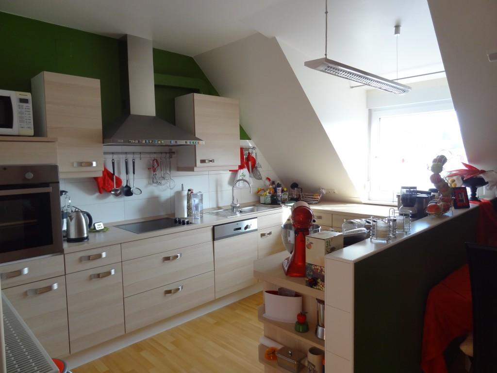 küche mit dachschräge | ecocasa.info. u-küche in dachschräge ... - Küche Mit Dachschräge